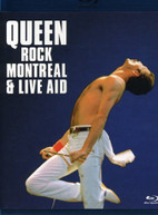 QUEEN - QUEEN ROCK MONTREAL & LIVE AID (WS) BLU-RAY