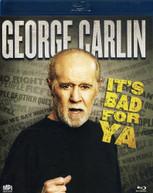 GEORGE CARLIN - IT'S BAD FOR YA BLU-RAY