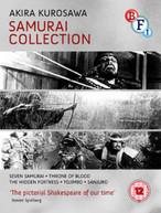 KUROSAWA - THE SAMURAI COLLECTION (BLU-RAY BOX SET) (UK) BLU-RAY