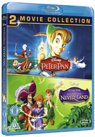 PETER PAN / PETER PAN 2 (UK) BLU-RAY