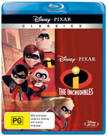 THE INCREDIBLES (2004) BLURAY