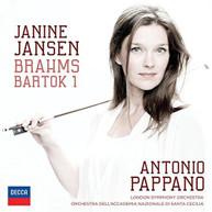 BRAHMS JANSEN PAPPANO LSO - VIOLIN CONCERTO BARTOK: VIOLIN CD