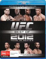 UFC: BEST OF 2012 YEAR IN REVIEW (2012) BLURAY