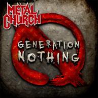 METAL CHURCH - GENERATION NOTHING CD