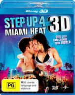STEP UP 4: MIAMI HEAT (3D BLU-RAY) (2012) BLURAY