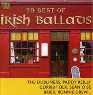 20 BEST OF IRISH BALLADS VARIOUS CD