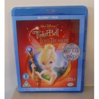 TINKER BELL & THE LOST TREASURE (UK) BLU-RAY