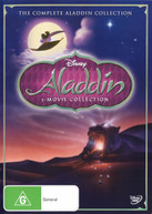 THE COMPLETE ALADDIN COLLECTION (ALADDIN / THE RETURN OF JAFAR / ALADDIN AND THE