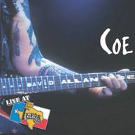 DAVID ALLAN COE - LIVE AT BILLY BOB'S TEXAS CD