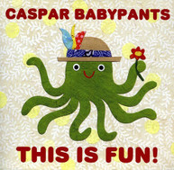 CASPAR BABYPANTS - THIS IS FUN CD
