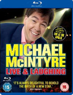 MICHAEL MCINTYRE - LIVE AND LAUGHING (UK) BLU-RAY