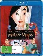 MULAN / MULAN 2 (1998) BLURAY