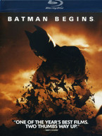 BATMAN BEGINS (WS) BLU-RAY