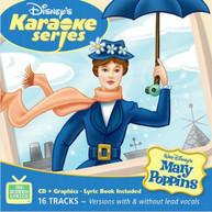 DISNEY'S KARAOKE SERIES: MARY POPPINS VARIOUS CD