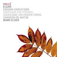 ELGAR HALLE ORCHESTRA ELDER - ENIGMA VARIATIONS CD