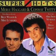 HAGGARD & TWITTY - SUPER HITS CD