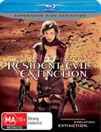 RESIDENT EVIL: EXTINCTION (2007) BLURAY