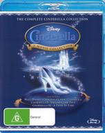 CINDERELLA CINDERELLA II: DREAMS COME TRUE CINDERELLA III: A TWIST IN TIME BLU-RAY