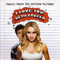 I LOVE YOU BETH COOPER SOUNDTRACK CD