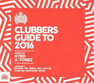 MINISTRY OF SOUND: CLUBBERS GUIDE TO 2016 - VARIOUS CD