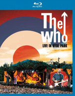 THE WHO - LIVE AT HYDE PARK BLU-RAY