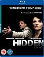 HIDDEN (UK) BLU-RAY