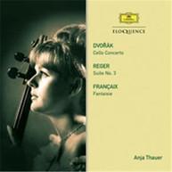 ANJA THAUER - DVORAK: CELLO CONCERTO CD