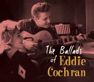 EDDIE COCHRAN - BALLADS OF EDDIE COCHRAN CD