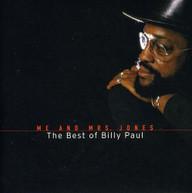 BILLY PAUL - ME & MRS JONES: BEST OF BILLY PAUL CD