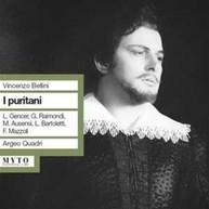 BELLINI GENCER RAIMONDI QUADRI - I PURITANI CD