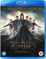 PRIDE AND PREJUDICE AND ZOMBIES (UK) BLU-RAY