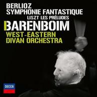 BERLIOZ BARENBOIM WEST-EASTERN DIVAN ORCHESTRA -EASTERN DIVAN CD