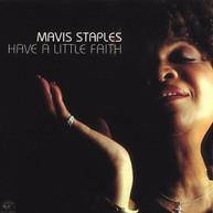 MAVIS STAPLES - HAVE A LITTLE FAITH CD