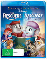 THE RESCUERS / THE RESCUERS DOWN UNDER (1977) BLURAY
