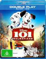 101 DALMATIANS (BLU-RAY/DVD) (1961) BLURAY