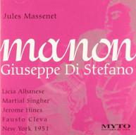 MASSENET DI STEFANO - MANON - MANON-ALBANESE DI STEFANO CD