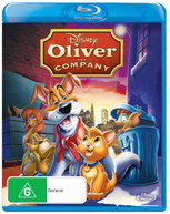 OLIVER AND COMPANY (1988) BLURAY