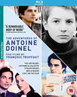 THE ADVENTURES OF ANTOINE DOINEL - 5 FILMS BY FRANCOIS TRUFFAUT (UK) BLU-RAY