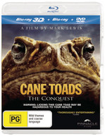 CANE TOADS: THE CONQUEST (3D BLU-RAY/BLU-RAY/DVD) (2010) BLURAY