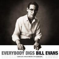 BILL EVANS - EVERYBODY DIGS BILL EVANS CD
