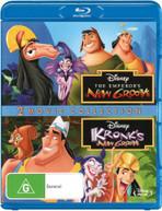 THE EMPEROR'S NEW GROOVE THE EMPEROR'S NEW GROOVE 2: KRONK'S NEW GROOVE (2000) BLU-RAY