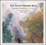 C.P.E. BACH REMY - HARPSICHORD CONCERTOS CD