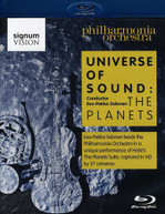 HOLST PHILHARMONIA ORCH SALONEN - UNIVERSE OF SOUND: THE PLANETS BLU-RAY
