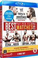 WWE BEST PPV MATCHES 2012 (UK) BLU-RAY