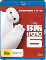 BIG HERO 6 (2014) BLURAY