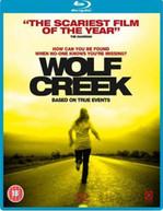 WOLF CREEK (UK) BLU-RAY