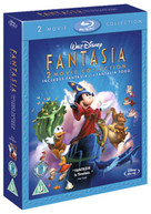 FANTASIA / FANTASIA 2000 DOUBLE PACK (UK) BLU-RAY