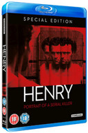 HENRY PORTRAIT OF A SERIEAL KILLER - SPECIAL EDITON (UK) BLU-RAY