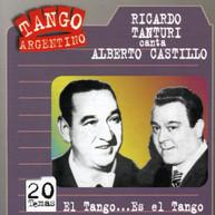 TANTURI & CASTILLO - EL TANGO ES EL TANGO CD