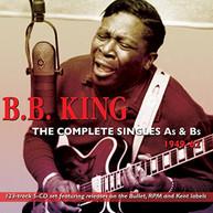 B.B. - COMPLETE SINGLES AS KING & BS 1949 - COMPLETE SINGLES AS & BS CD